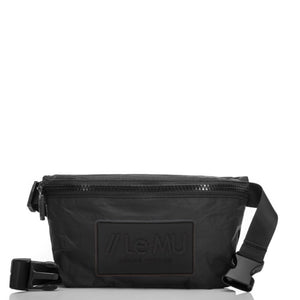 // Le MU - Mini Hip Pack // Black