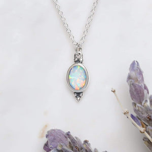 Load image into Gallery viewer, Midsummer Star - Moonsong Opal Necklace
