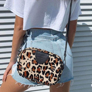 Status Anxiety - Plunder Bag in Leopard