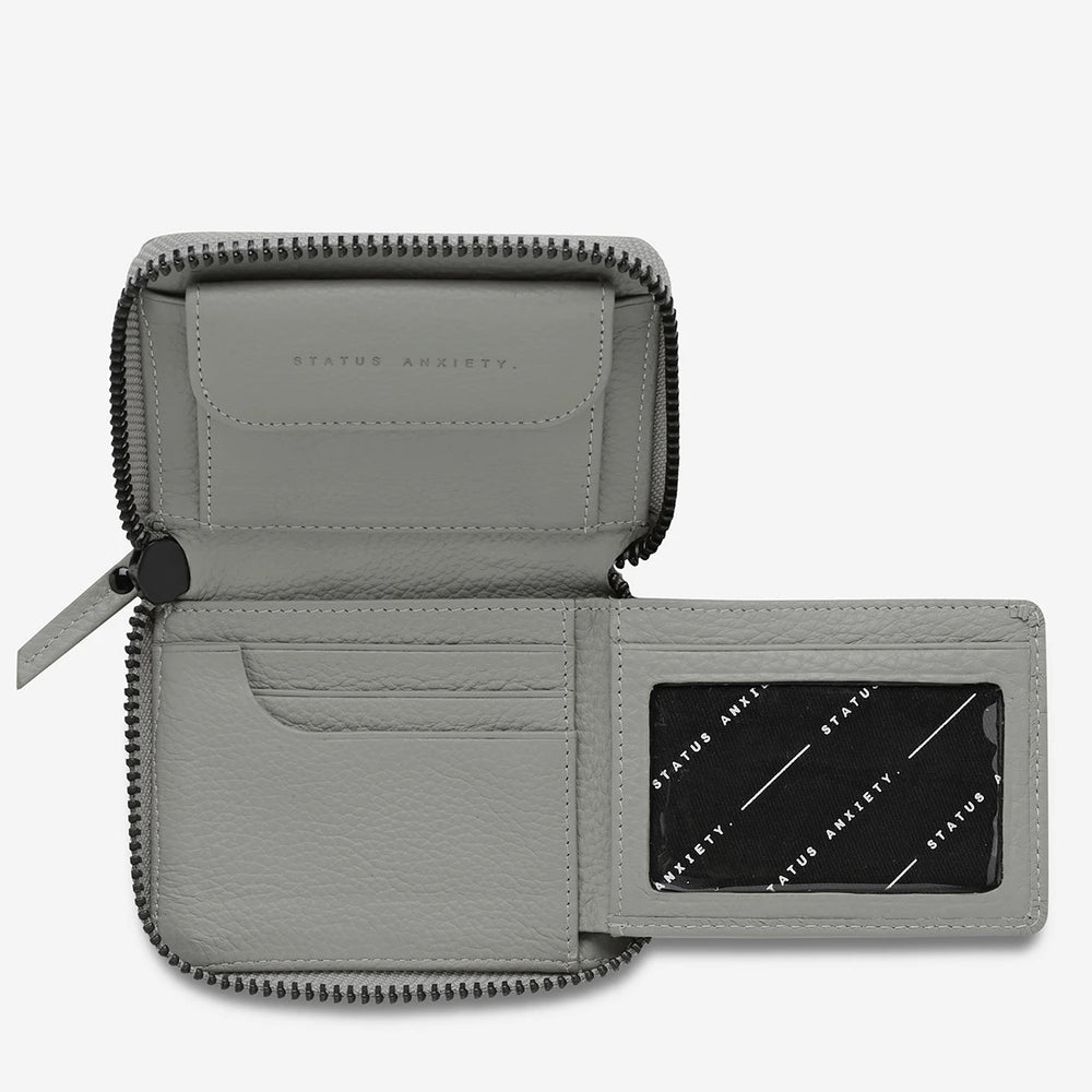 Status Anxiety - Wayward Wallet in Light Grey