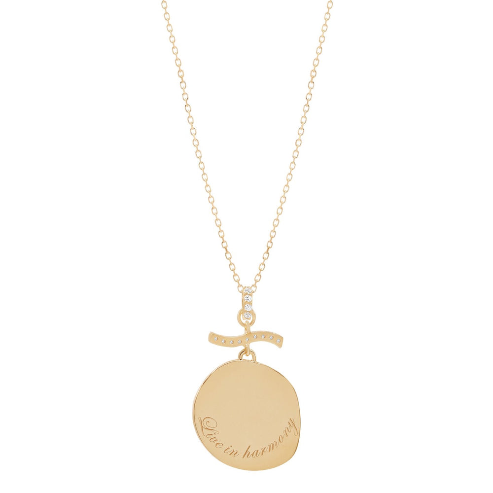 By Charlotte Divine Goddess Necklace- Gold