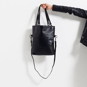 Load image into Gallery viewer, Status Anxiety - Wasteland Bag in Black/ Black