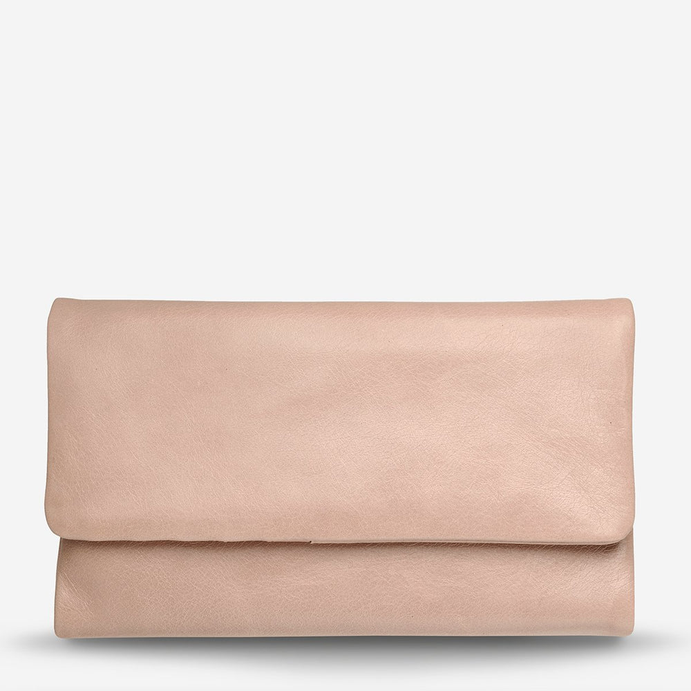 Status Anxiety - Audrey Wallet in Dusty Pink