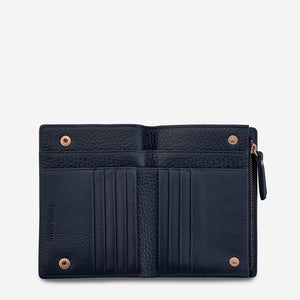 Status Anxiety - Insurgency Wallet in Navy Blue