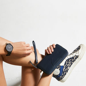 Status Anxiety - Moving On Wallet in Navy Blue