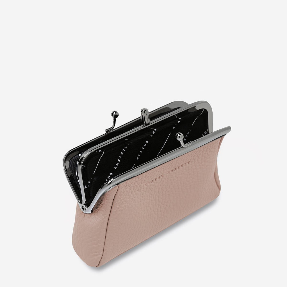 Load image into Gallery viewer, Status Anxiety - Volatile Purse in Dusty Pink