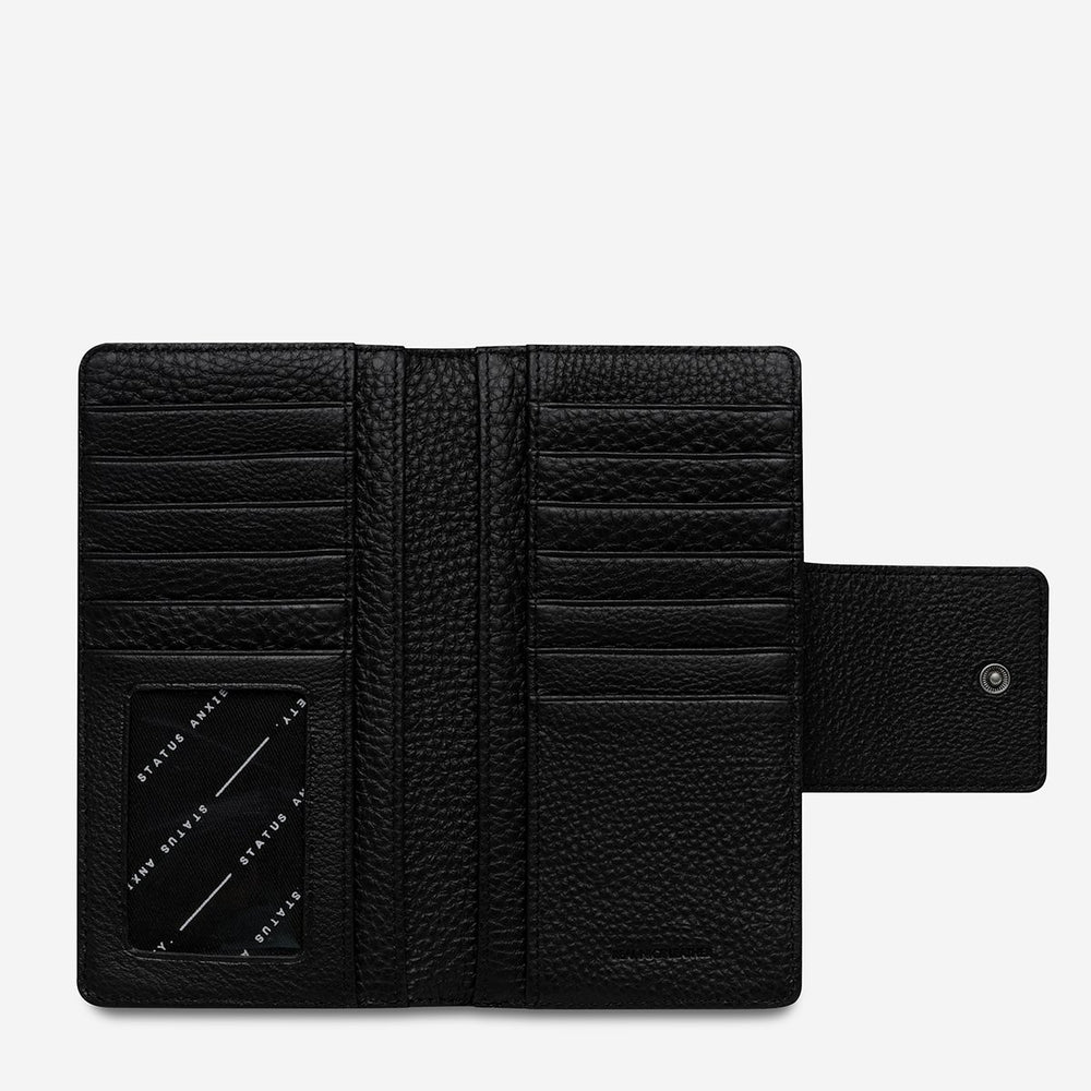 Load image into Gallery viewer, Status Anxiety - Ruins Wallet in Black