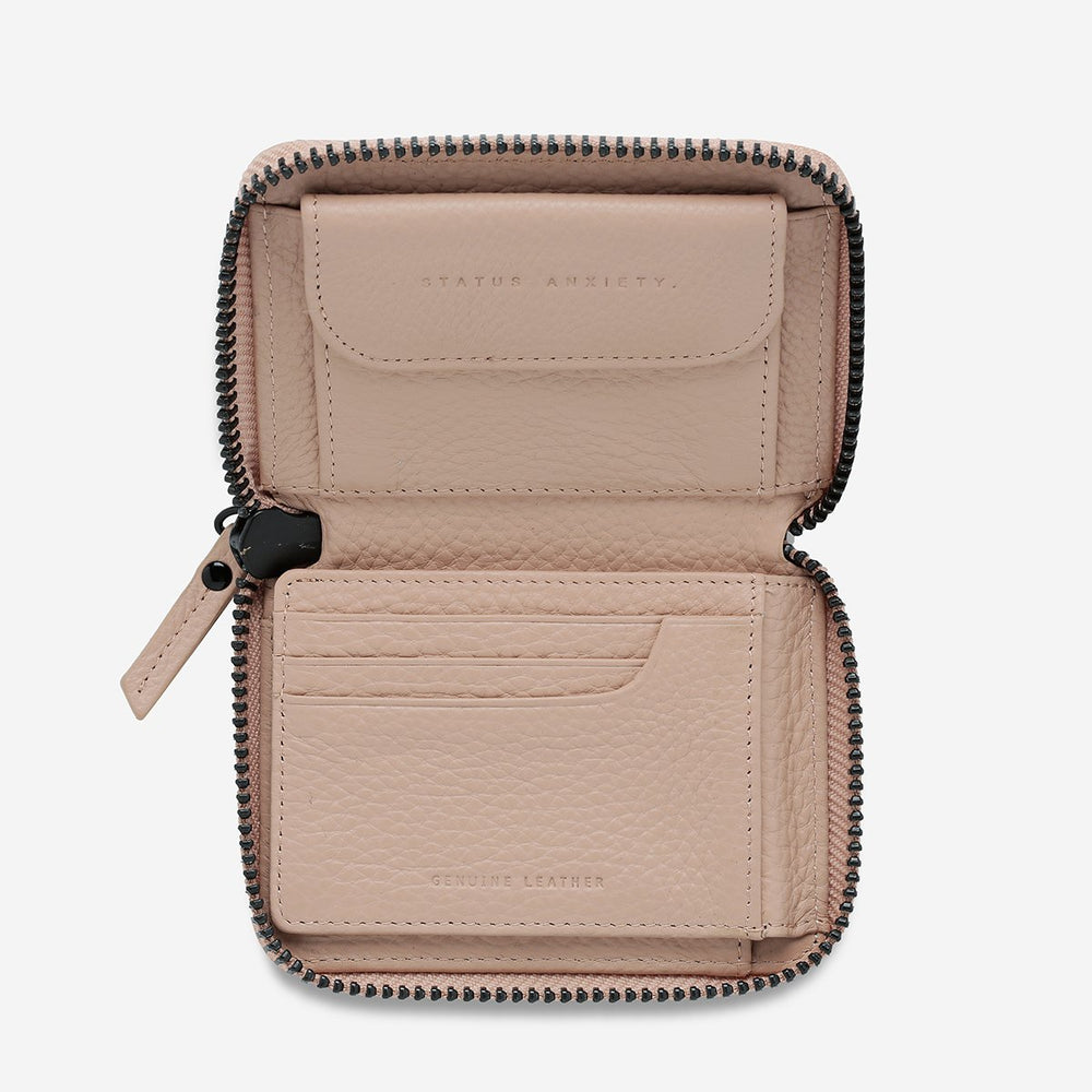 Status Anxiety - Wayward Wallet in Dusty Pink