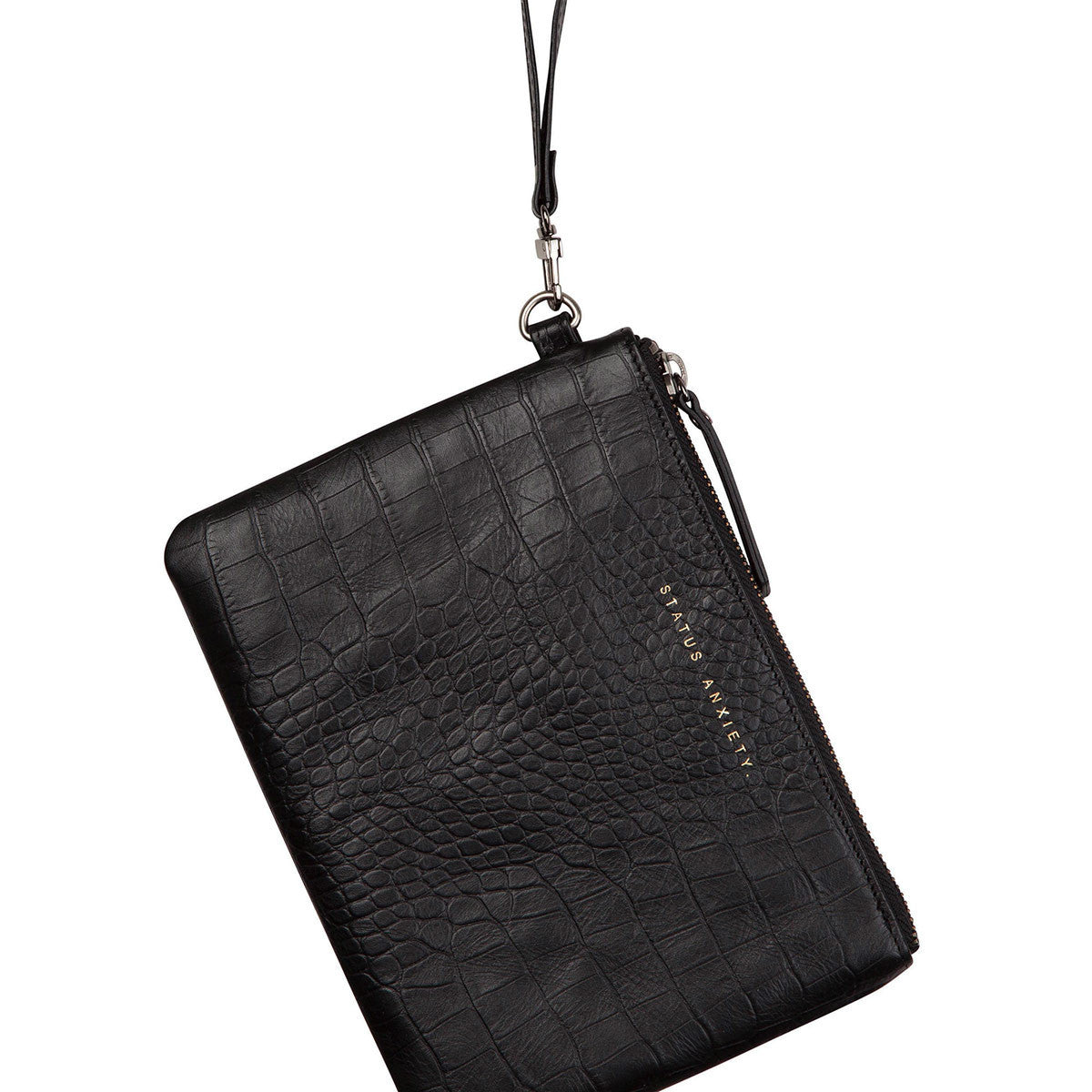 THE FIXATION BLACK CROC WALLET FROM STATUS ANXIETY 3