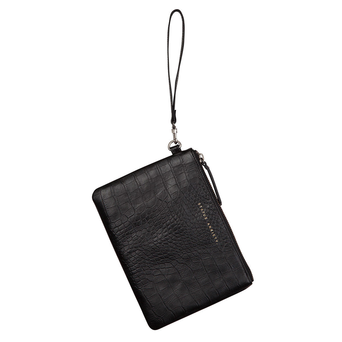 THE FIXATION BLACK CROC WALLET FROM STATUS ANXIETY 5