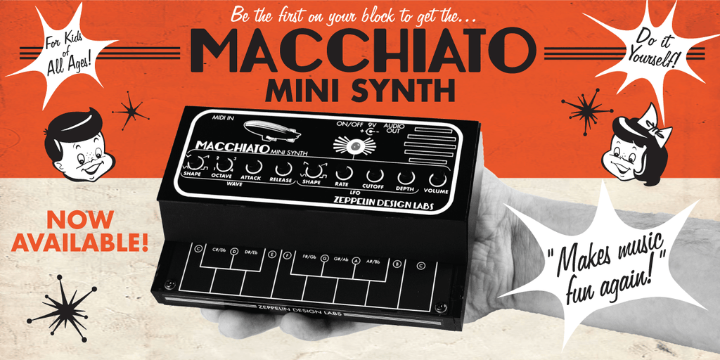 Zeppelin Design Labs Macchiato Mini Synth