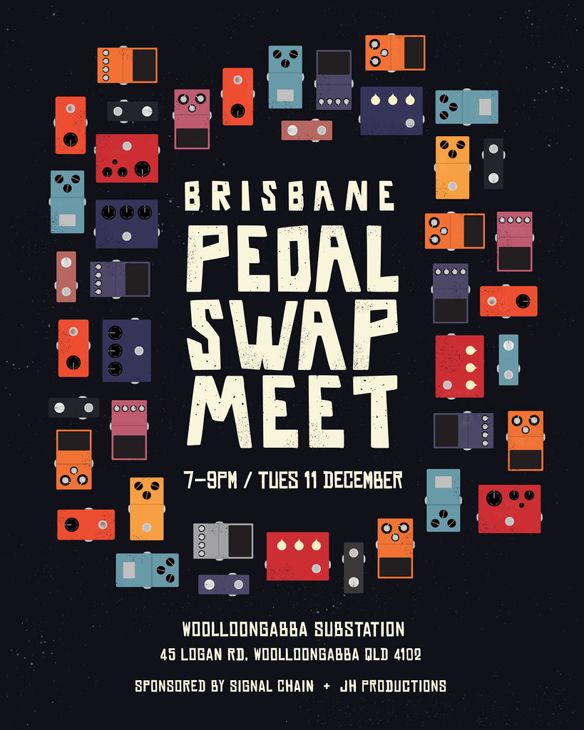 Brisbane Pedal Swap Meet