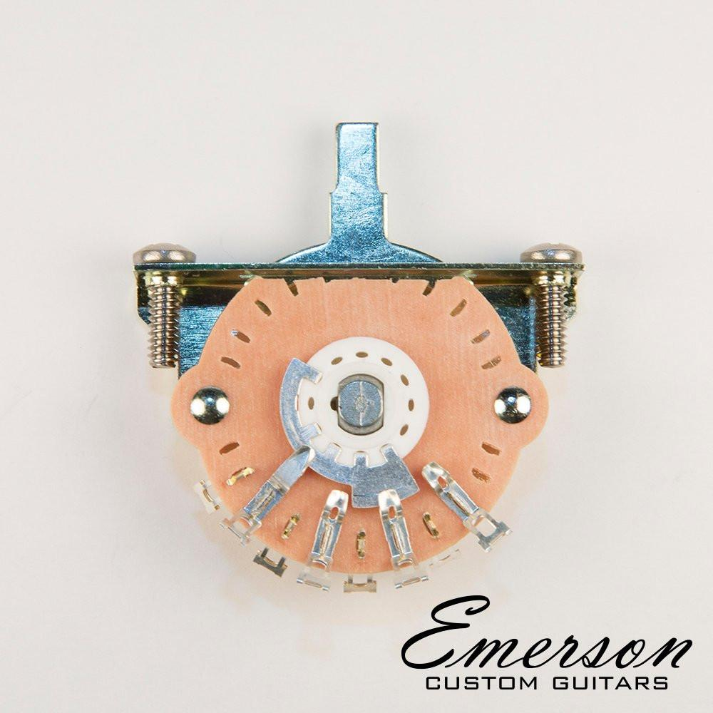 Emerson Custom Oak Grigsby 3-way Lever Switch