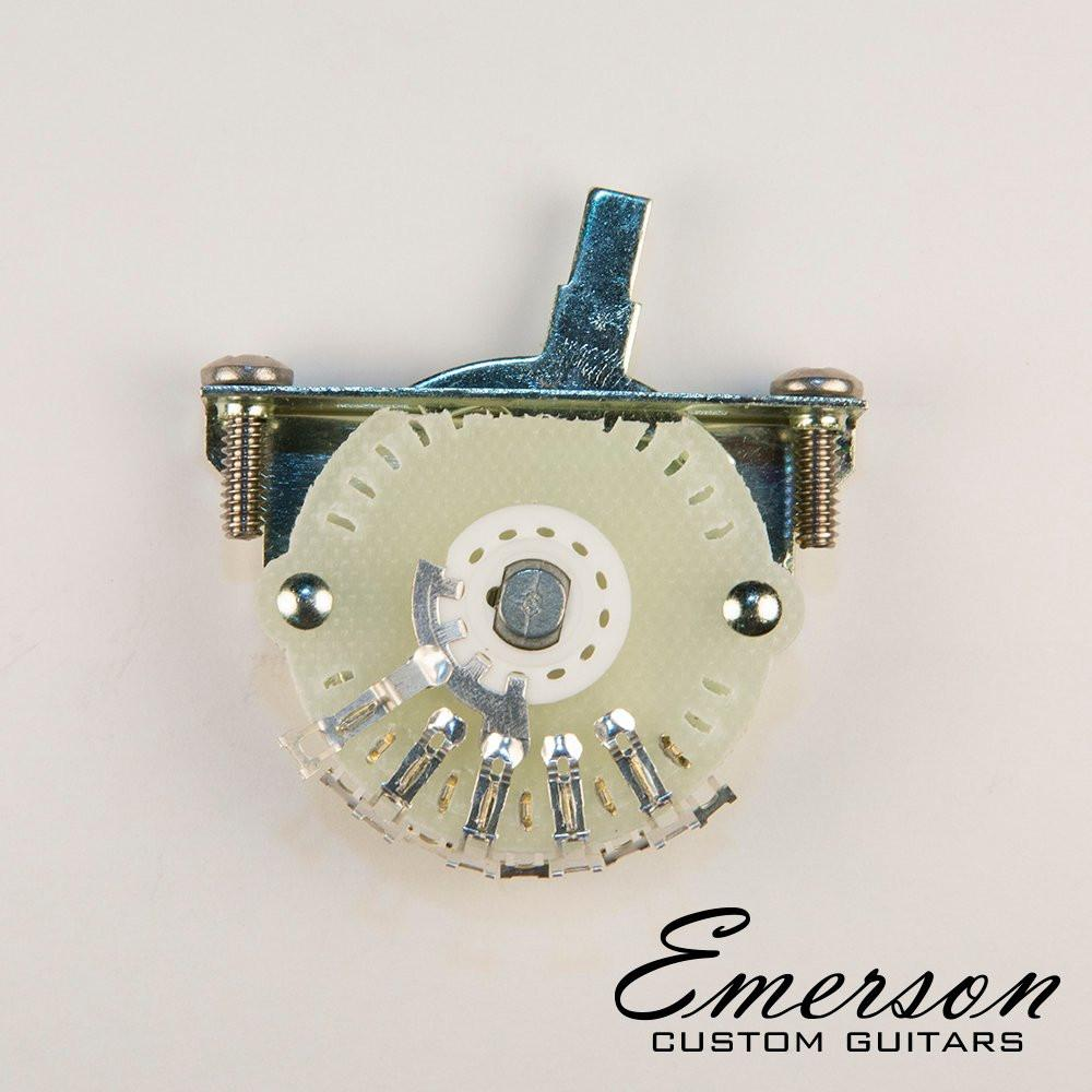 Emerson Custom Oak Grigsby 4-way Lever Switch