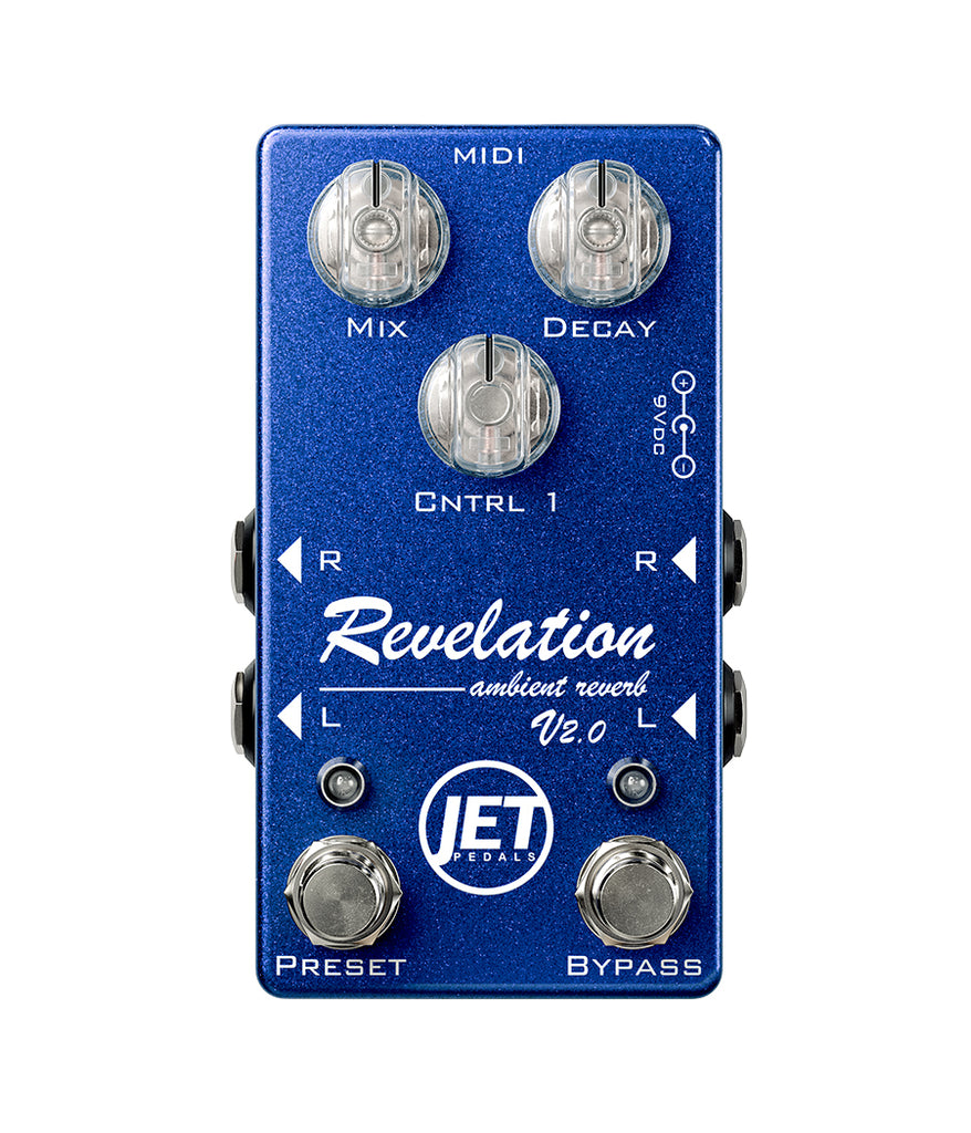 Revelation Reverb V2.0 Blue Metallic (no MIDI)