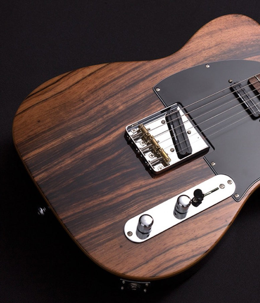 Michael Kelly Guitars CC50 Deluxe Electric Guitar in Striped Ebony