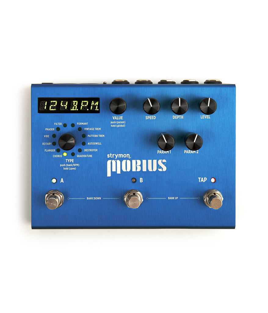 Strymon Möbius Modulation Pedal – FREE Express Post!