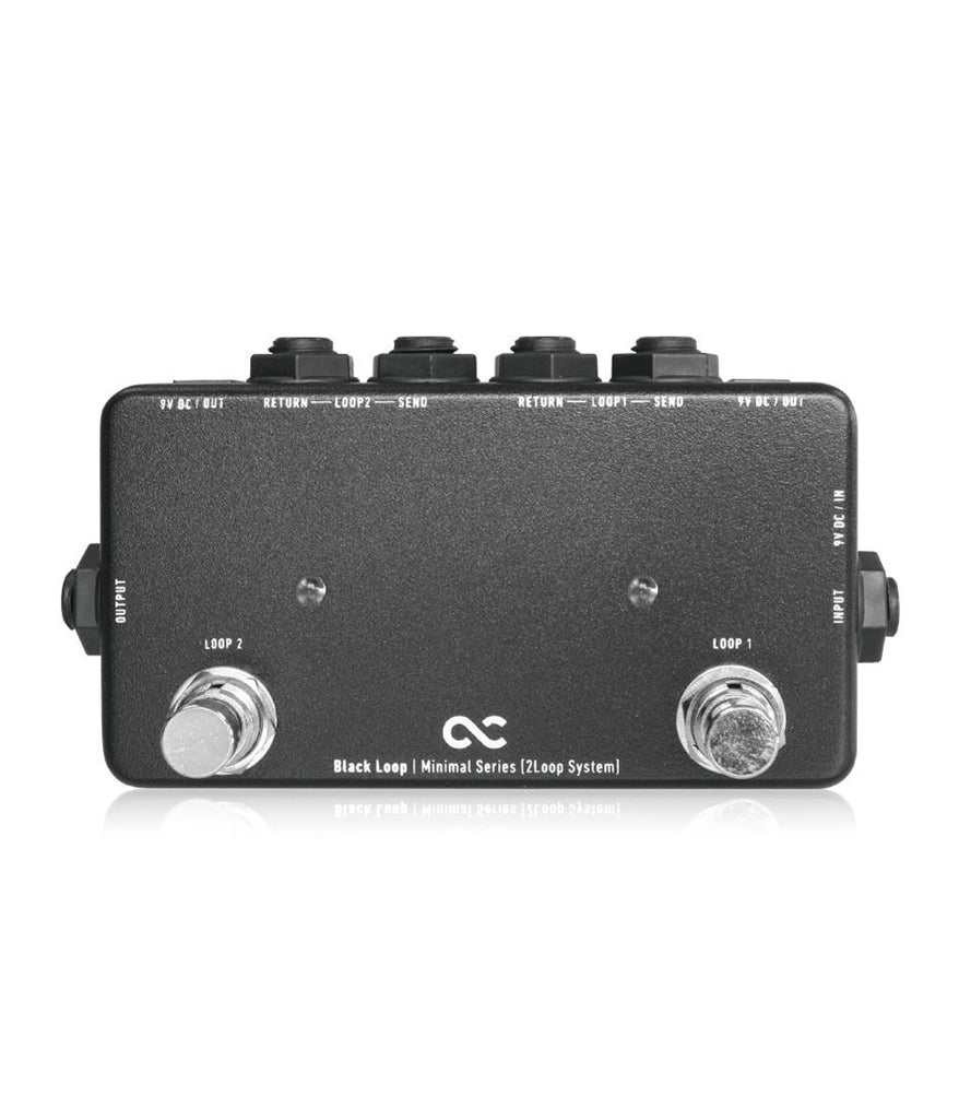 One Control Black Loop 2-Channel Switcher