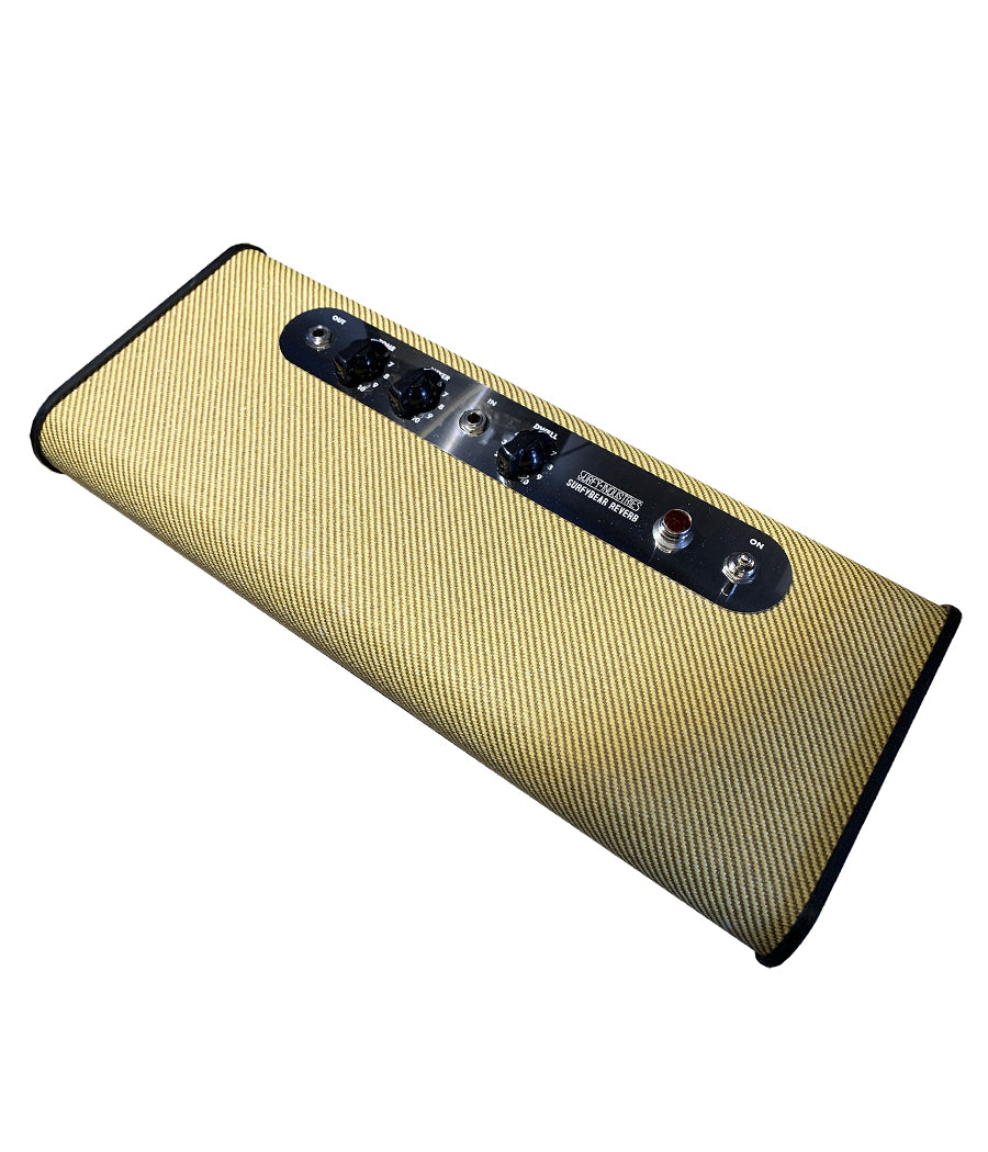 SurfyBear Classic Real Spring Reverb in Tweed (LIMITED EDITION)