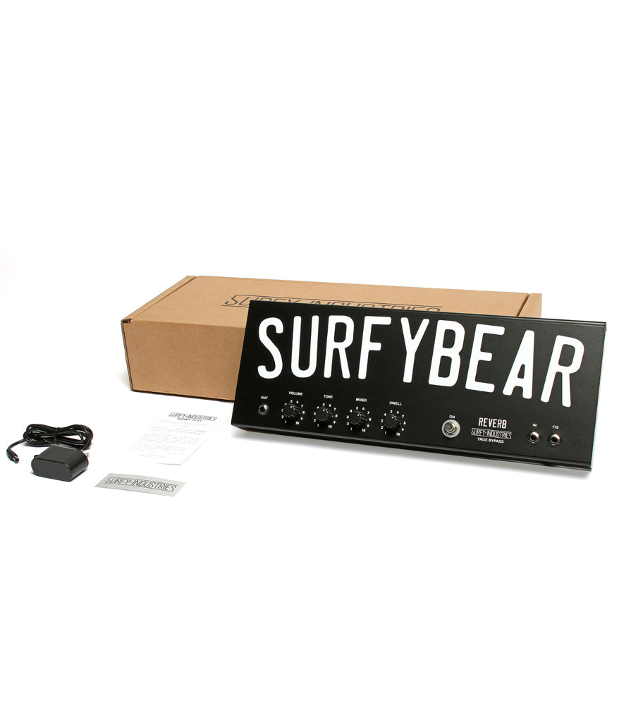SurfyBear Metal Real Spring Reverb