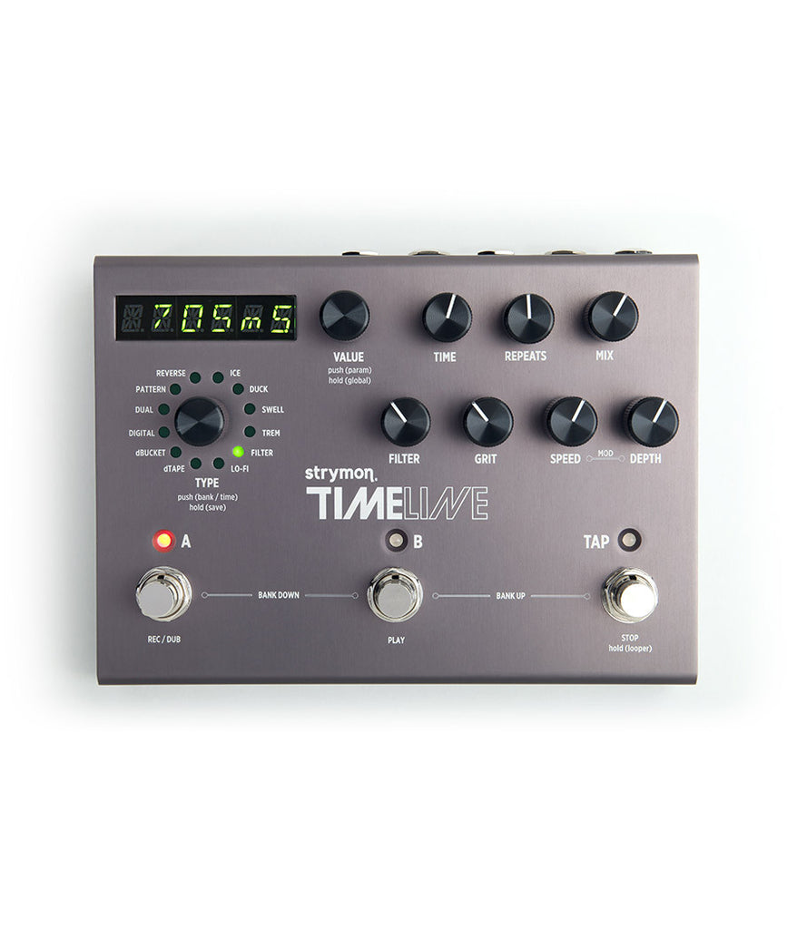 Strymon TimeLine Delay Pedal – FREE Express Post!
