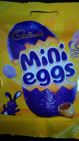 Mini eggs ( Cadbury ) 80 gr.