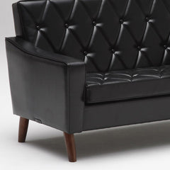 lobby chair two seater standard black - Sofa - Karimoku60