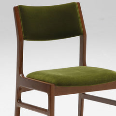 Karimoku60 - armless dining chair moquette green - Dining Chair