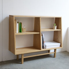 Bookcase wide - Shelf - greeniche