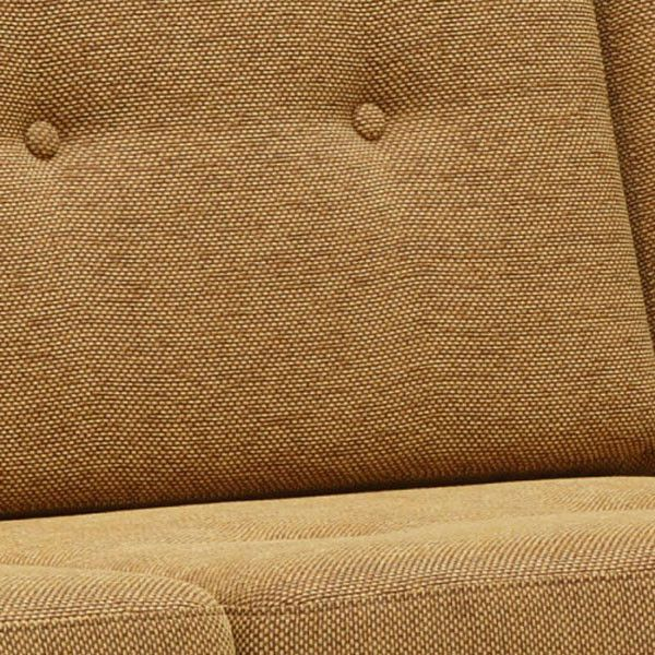Karimoku60 - frame chair three seater mustard yellow - Sofa