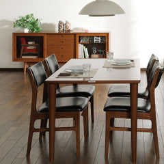 Karimoku60 - armless dining chair milan black - Dining Chair