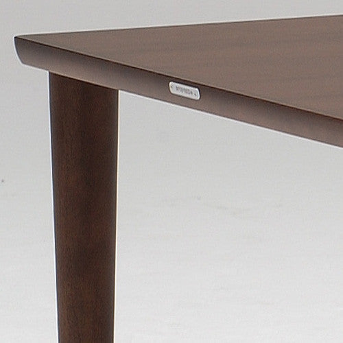 dining table 1800 mocha brown