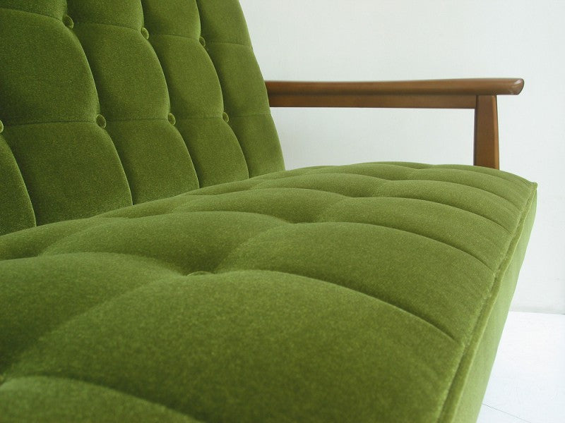 Karimoku60 - k chair two seater moquette green - Sofa