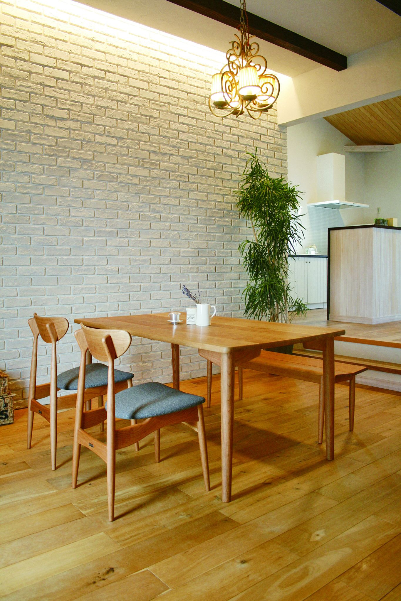 Nagano Interior - Friendly dining table DT342 - Dining Table