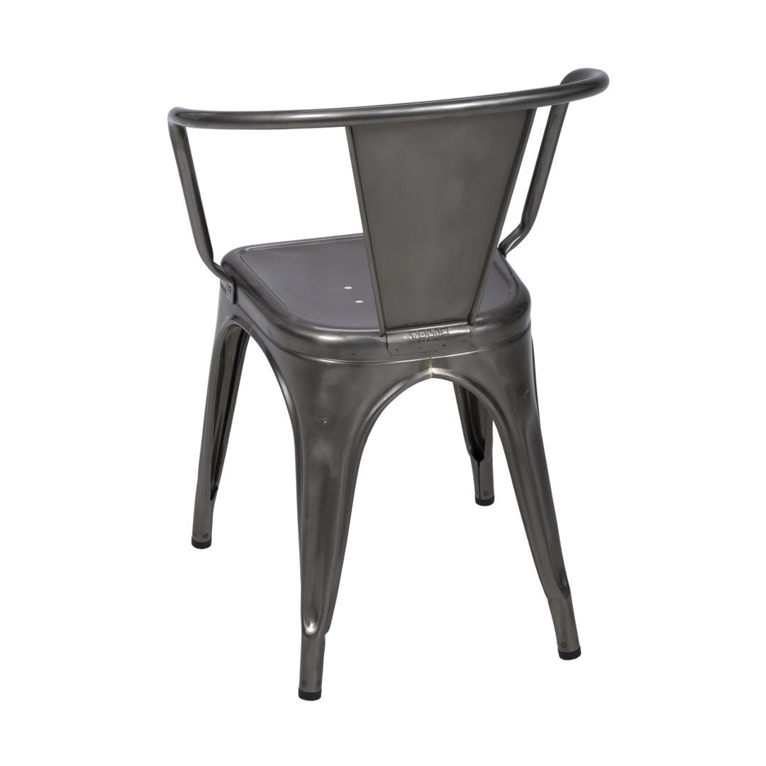 TOLIX - A56 Armchair stainless steel - Dining Chair