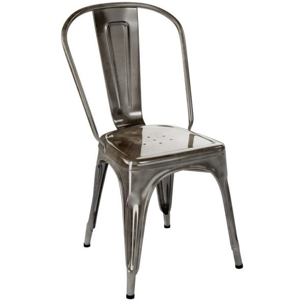 TOLIX - A Chair stainless steel - Dining Chair