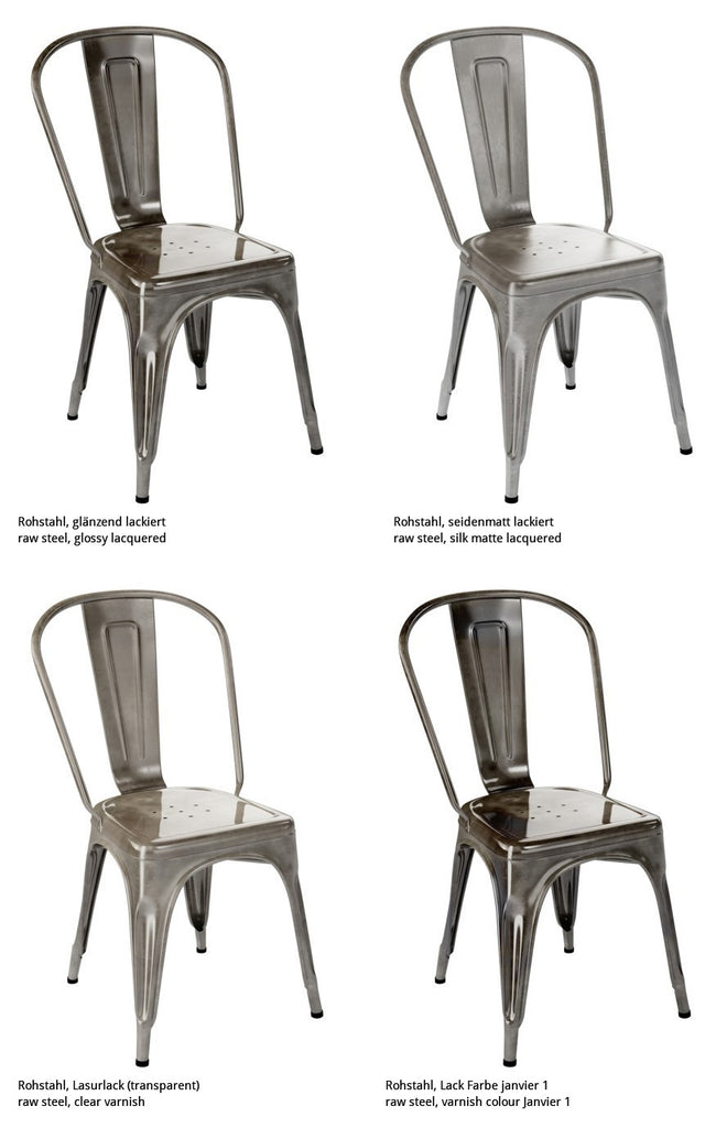 A Chair stainless steel - Dining-Chair - TOLIX