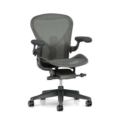 New Aeron Chair Carbon in Size A