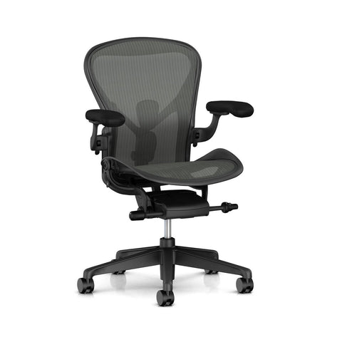 New Aeron Chair Graphite in Size C