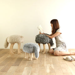 Takumi Kohgei - Animal Stool_Fox Gray