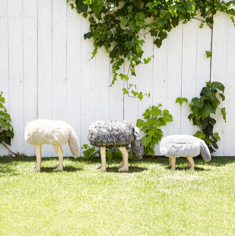 Animal Stool_Wolf Gray L - Stool - Takumi Kohgei