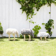 Animal Stool_Coyote Brown S