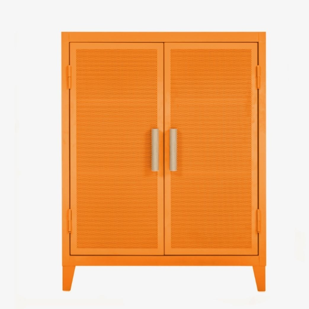 TOLIX - B2 Low Locker Perforated - Cabinet