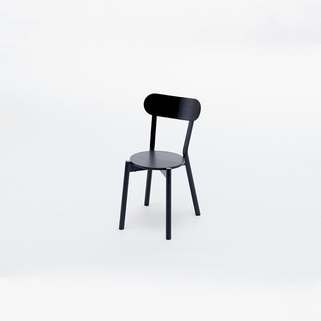 CASTOR CHAIR black