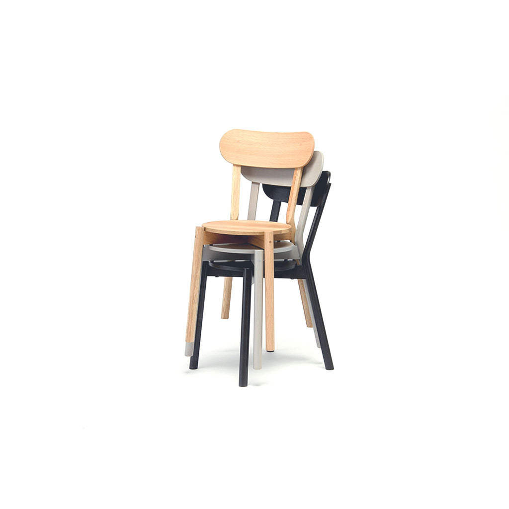 Karimoku New Standard - CASTOR CHAIR grain gray
