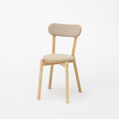 Karimoku New Standard - CASTOR CHAIR PAD oak - Dining Chair