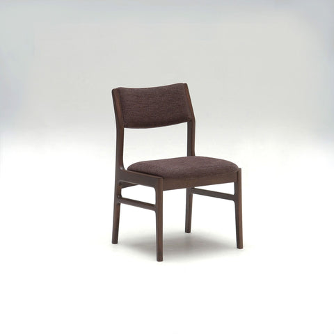 armless dining chair milan black