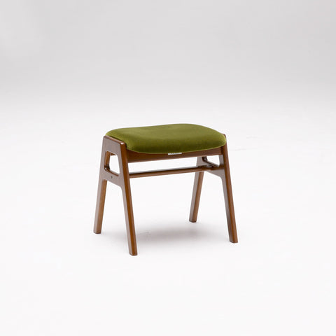 Karimoku60 - stacking stool moquette green - Stool