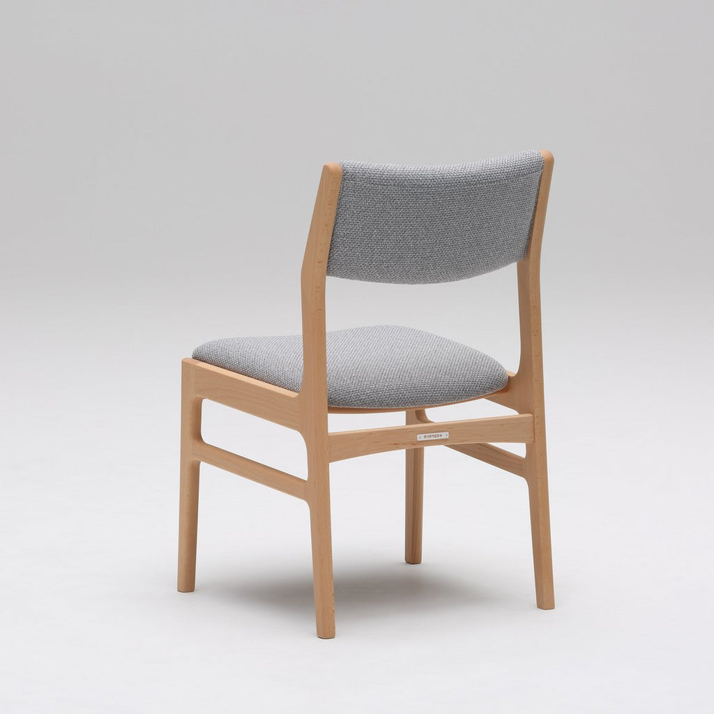 Karimoku60 - armless dining chair mist gray - Dining Chair