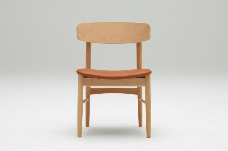armless dining chair II liber brown